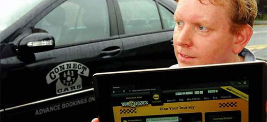 Manchester man launches TaxiTastic app