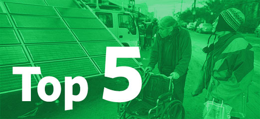 Top five energy stories 21-11-2012