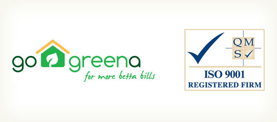 Go Greena are ISO 9001 certified