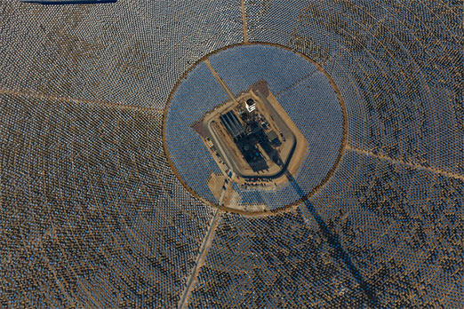 Ivanpah solar thermal power plant
