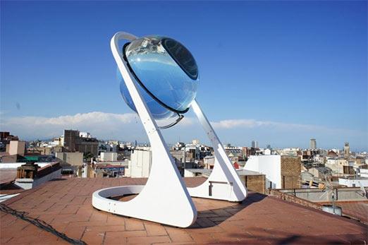Solar energy spheres