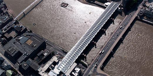 Blackfriars Bridge solar panels