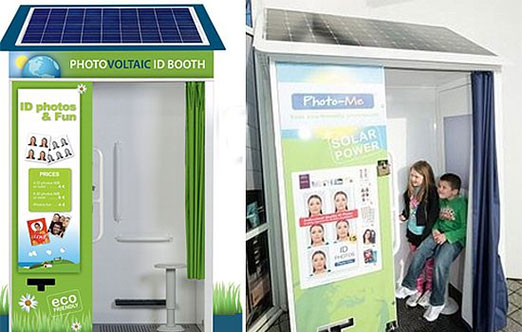 solar powered photo booth