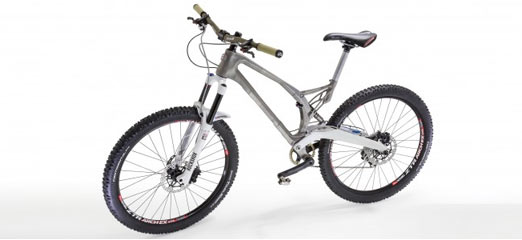 3D-printed bike