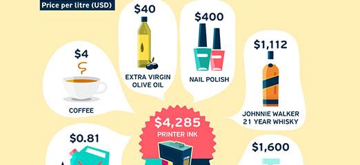 Eco printing infographic