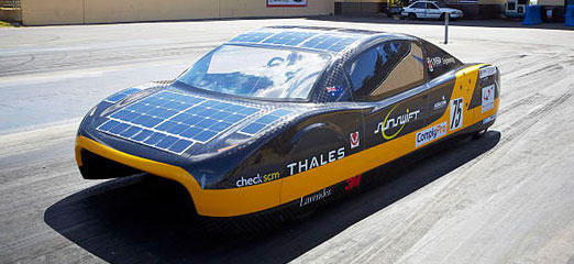 Record breaking electric car